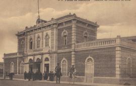 Postal del Ferrocarril-de-Soller-Estacion-de-Palma-postal-comercial-668x453