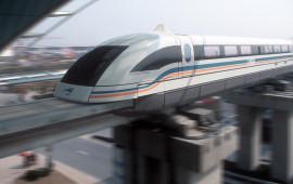 Tren Maglev Shangai