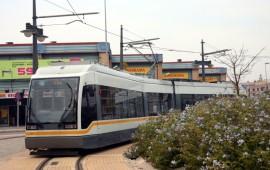 Tranvía Valencia, España